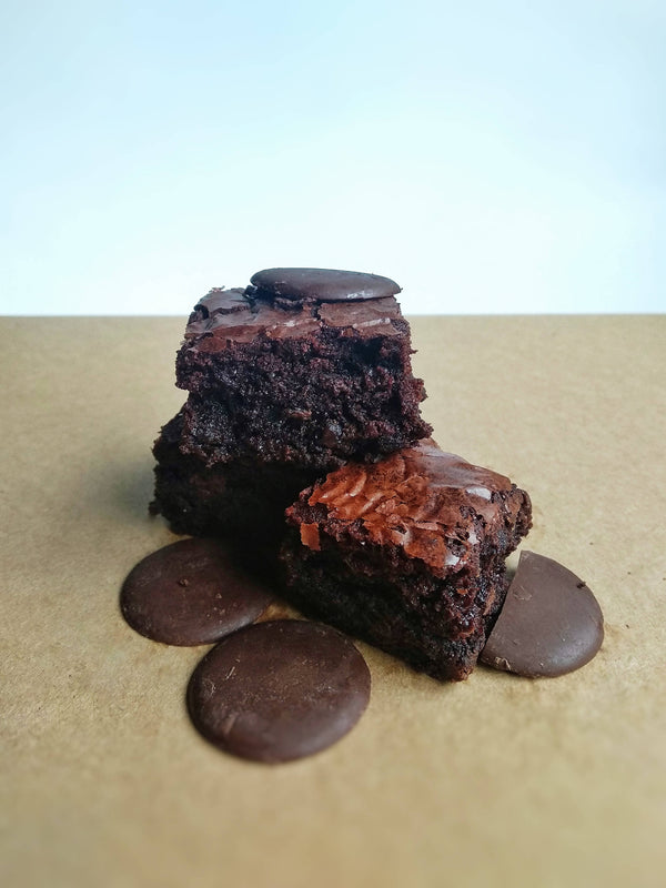 Double Chocolate Classic Chewy Brownies