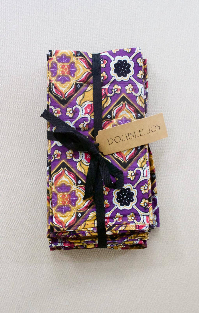Batik Table Napkins Set of 8 - Putri