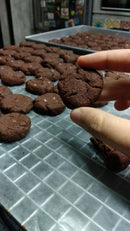 Dark Chocolate with Sea Salt Cookies