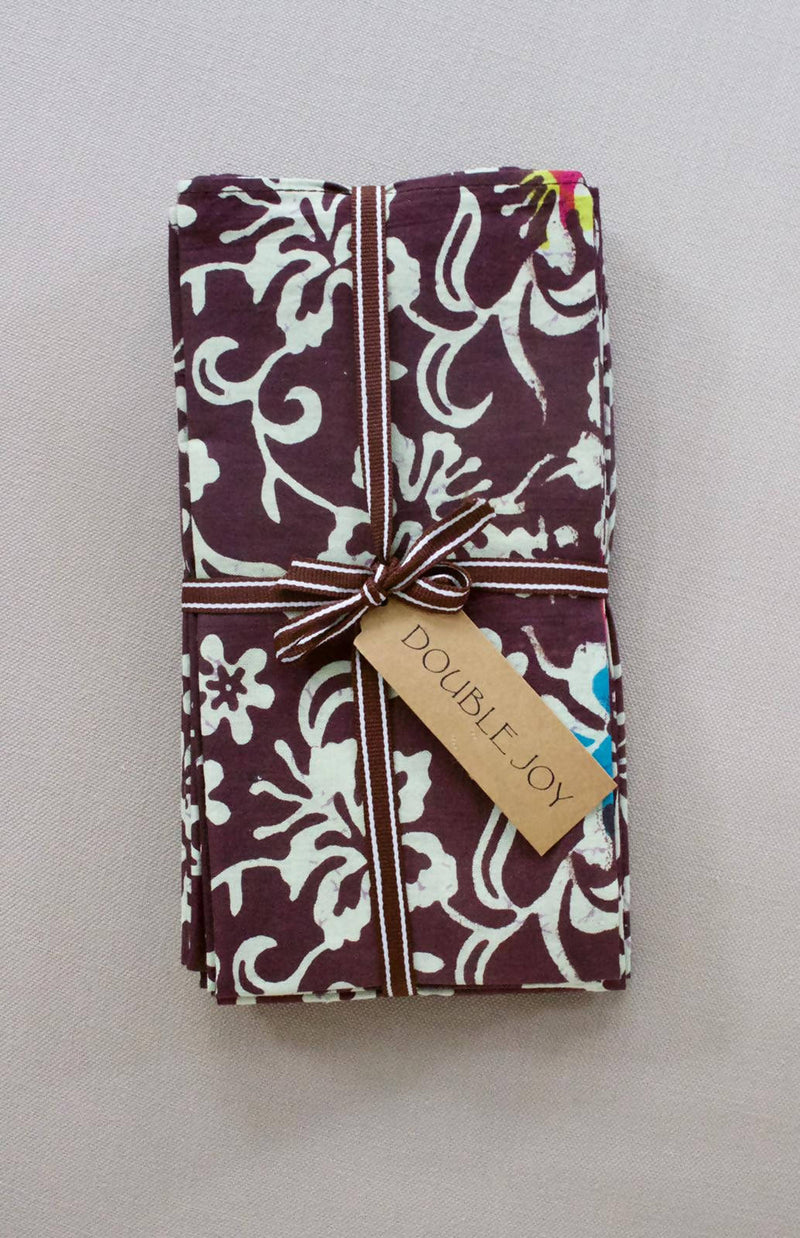 Batik Table Napkins Set of 8 - Dewi