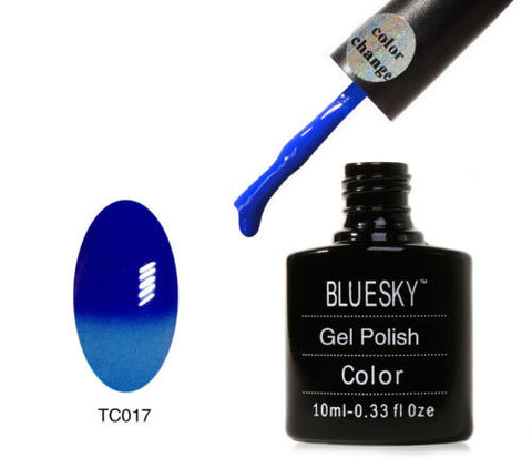 TC17 Bluesky TEMPERATURE CHANGE UV LED Gel Nail Polish Tidal Wave