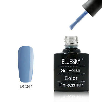 DC044 Bluesky Soak Off UV LED Gel Nail Polish Gray Lavender Neon Purple 10ml