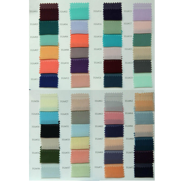 Color Swatch for Chiffon