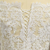 Lace Wedding Wraps Coats Wedding Party Bolero Shrug Sleeves Lace-up