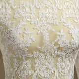 Lace Wedding Wraps Coats Jackets Wedding Party Bolero Shrug Sleeves Lace-up