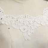 Wrap Shrugs Shawls Tulle Wedding Party / Evening Appliques Flower Lace with Beading