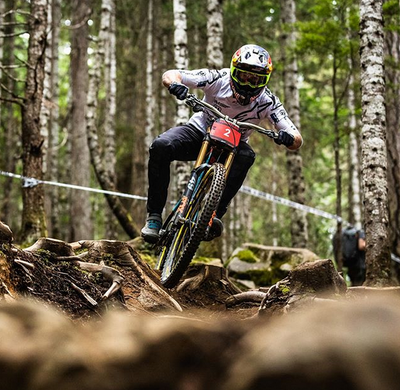 Words from Athlete Brook Macdonald (Professional Downhill Mountain Biker)