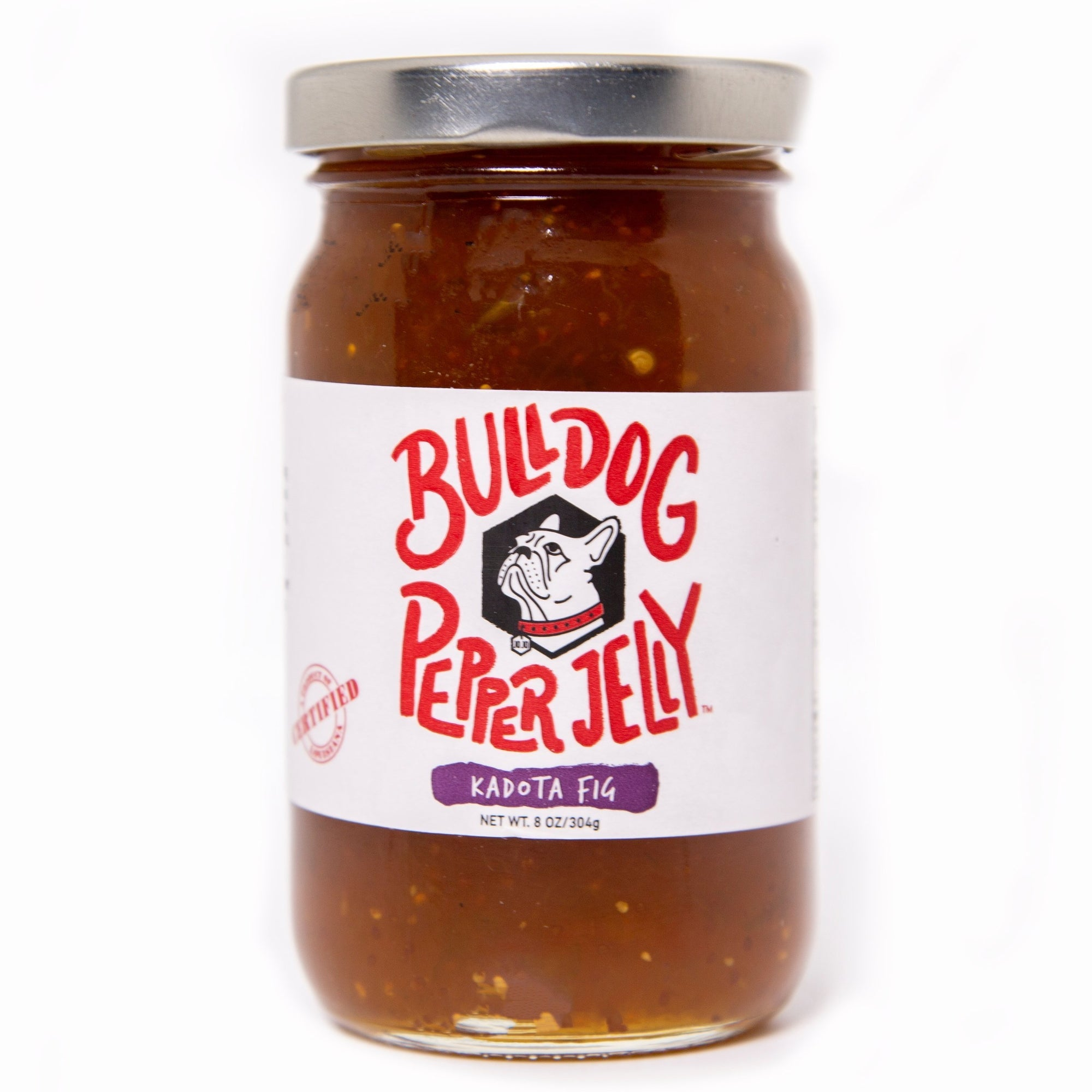 Bulldog Pepper Jelly Bulldog Kadota Fig Pepper Jelly
