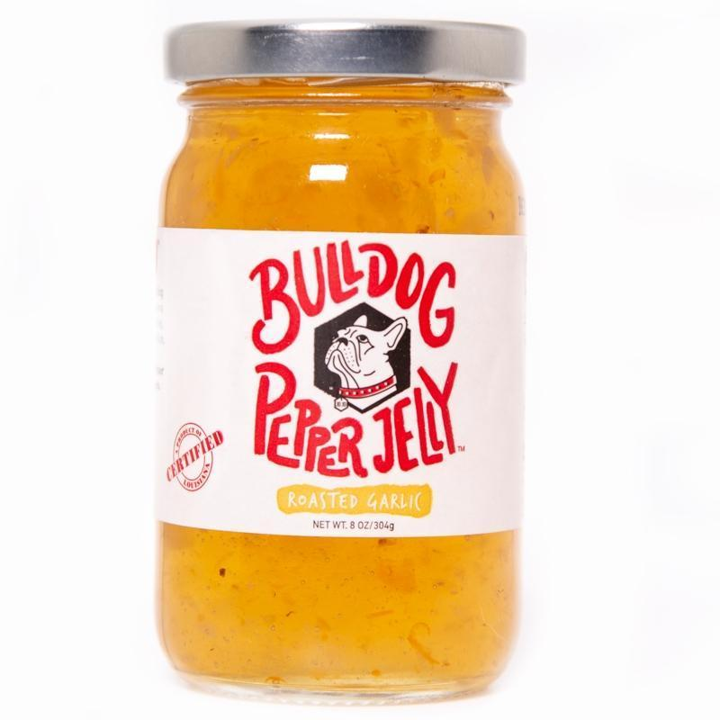Bulldog Pepper Jelly Bulldog Roasted Garlic Pepper Jelly