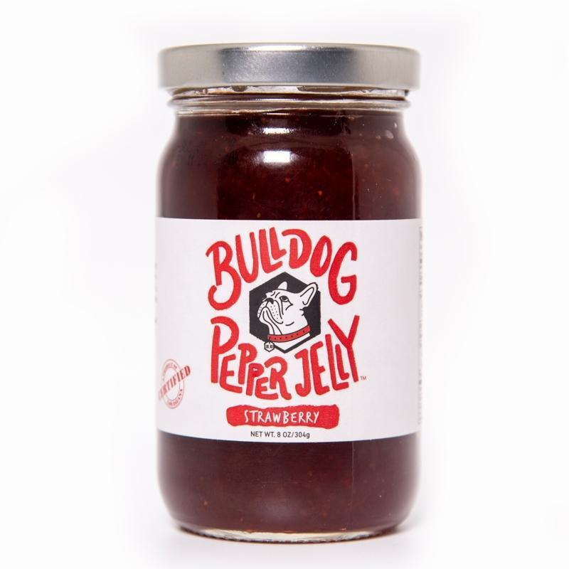 Bulldog Pepper Jelly Bulldog Strawberry Pepper Jelly