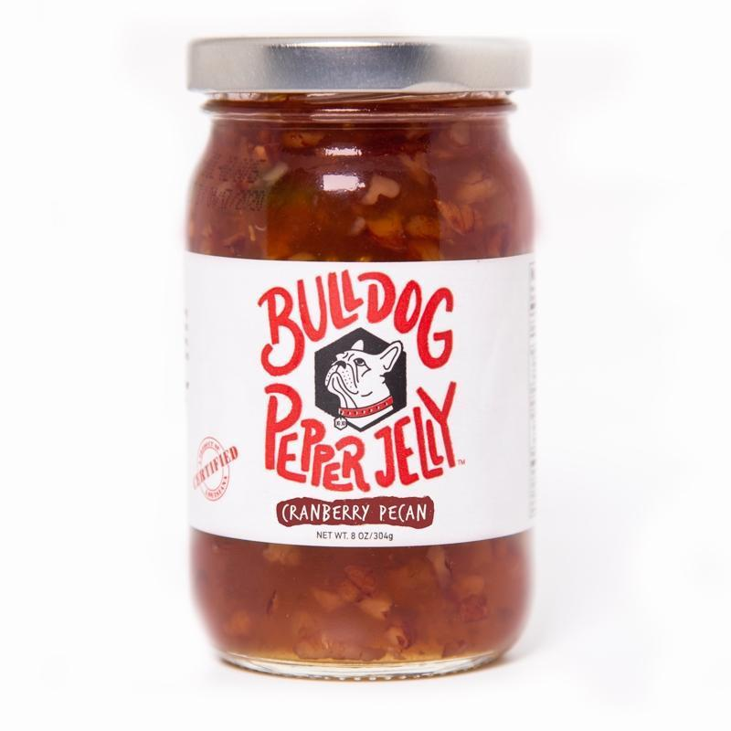 Bulldog Pepper Jelly Cranberry Pecan Pepper Jelly