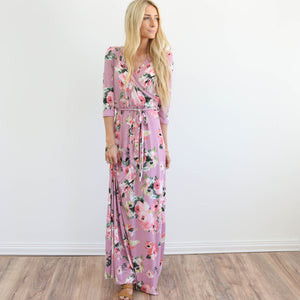 Maryell Maxi in Mauve