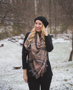 Anne Plaid Scarf