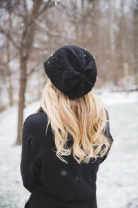 Avery Beanie in Black