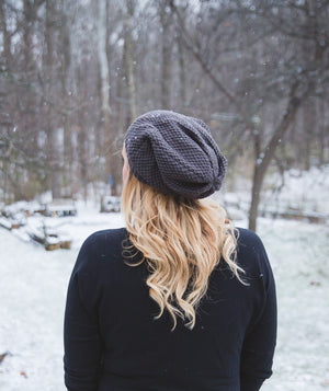 Avery Beanie in Gray