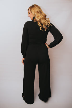 Amber Jumpsuit in Black