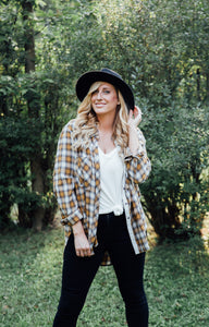 Max Distressed Plaid