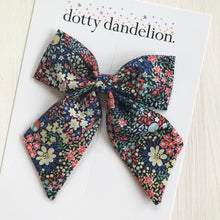 Elderberry Liberty Party Bow
