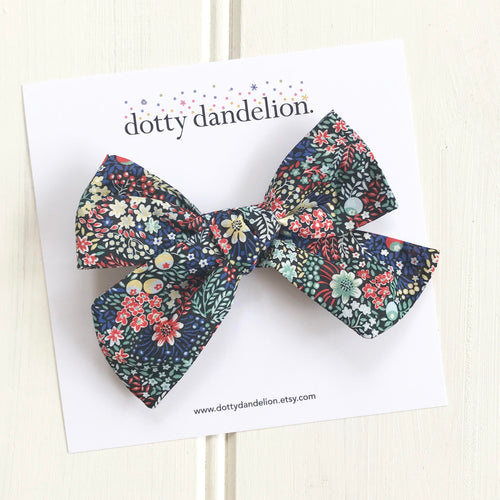 Elderberry Liberty Libby Bow