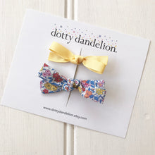 Mila Liberty and Ribbon Clip Set