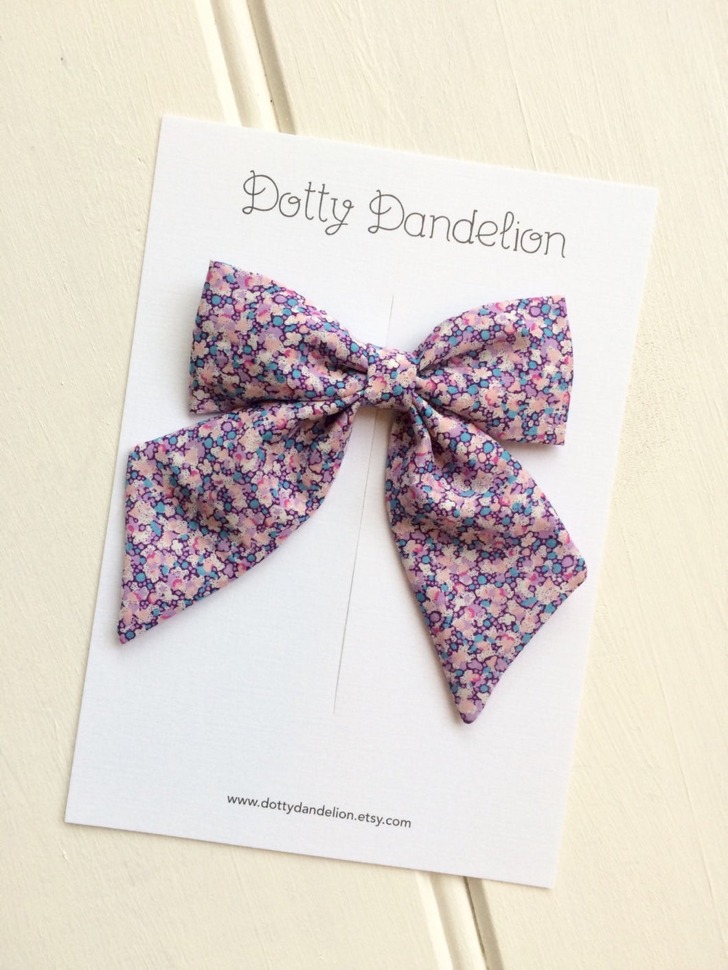 'Emma' Liberty Party Bow