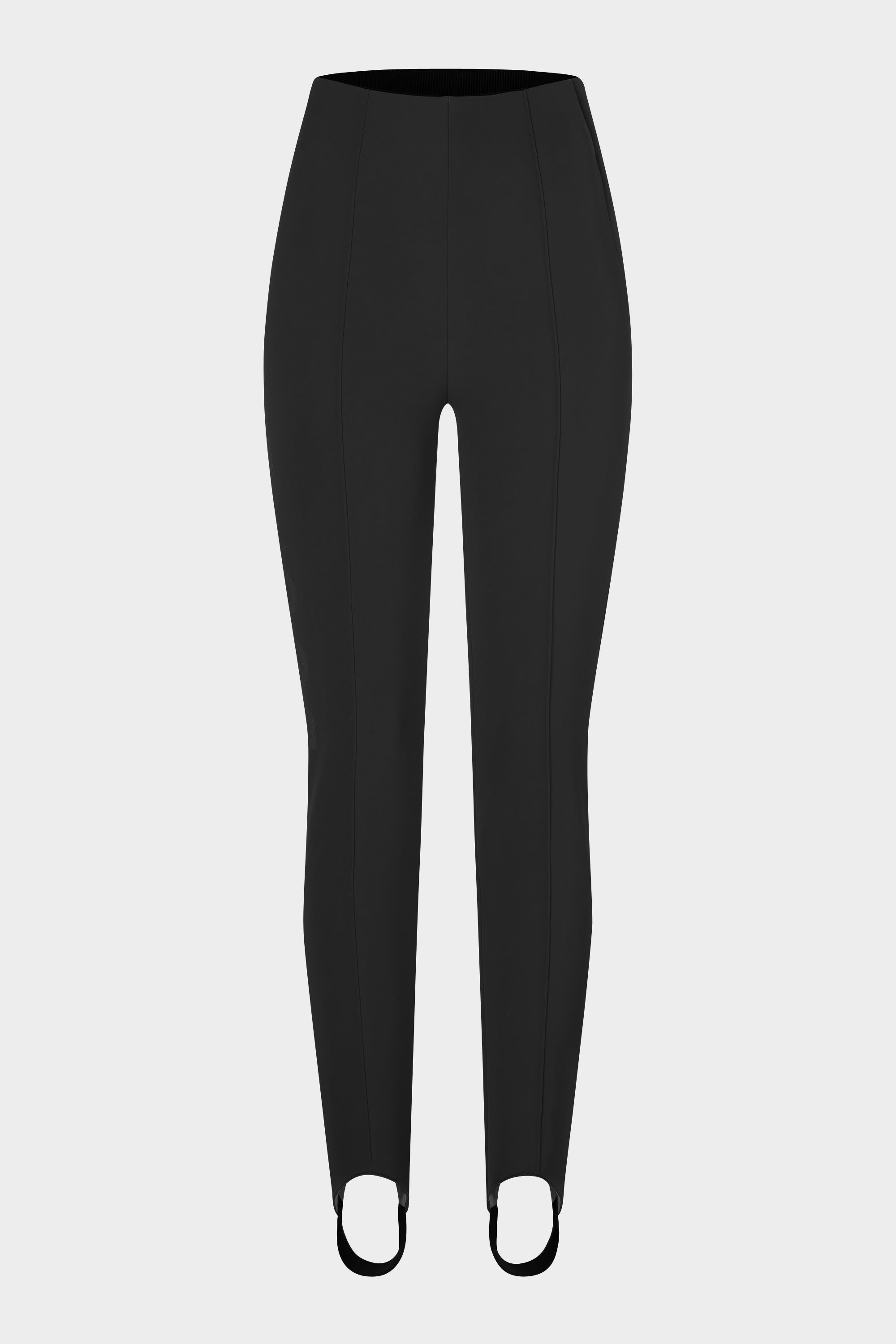 ELAINE in boots legging with Bogner logo - black