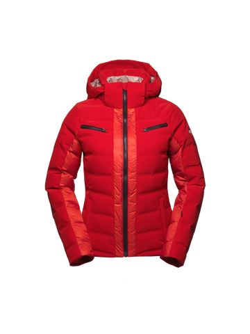 VANTA LADES JACKET - RED