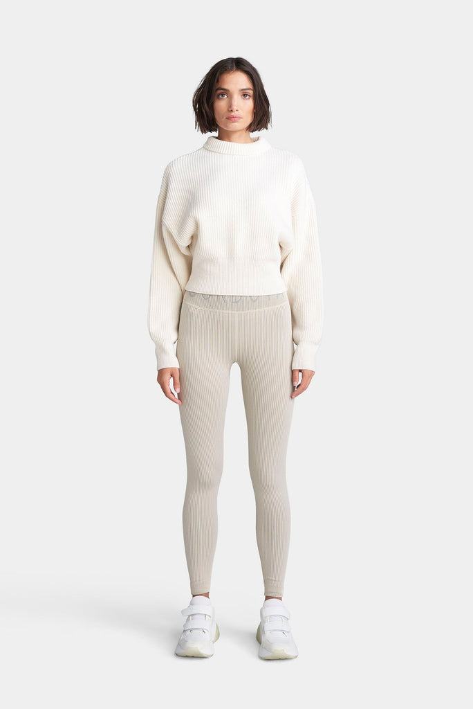 The Megeve Sweater - Cloud Dancer