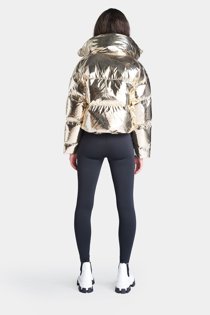 The Mont Blanc Ski Jacket - Gold Foil