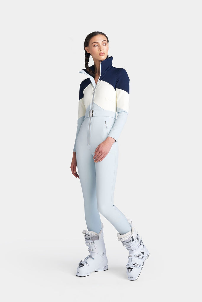 The Alta Ski Suit - Artic Ice/Cloud/Indigo