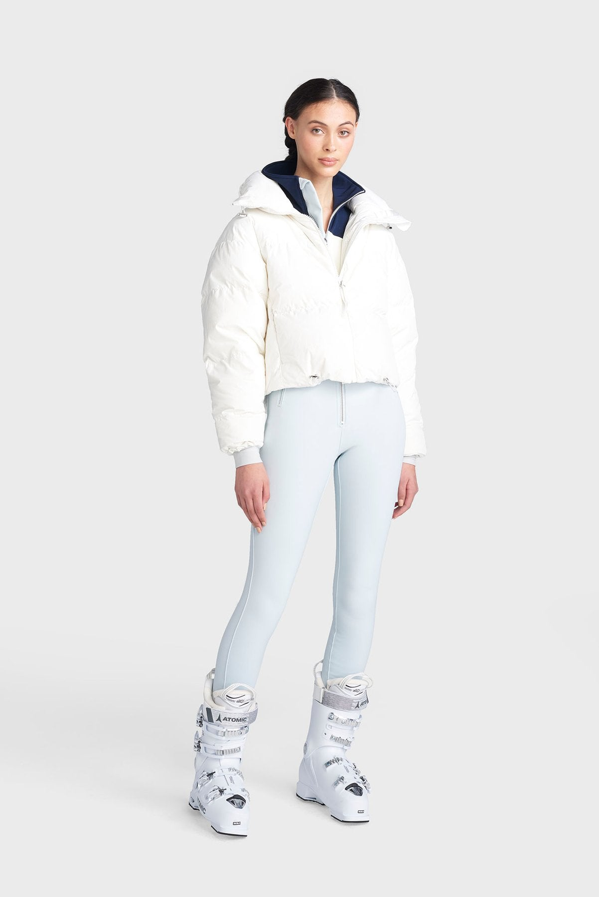 The Mont Blanc Ski Jacket - Cloud Dancer