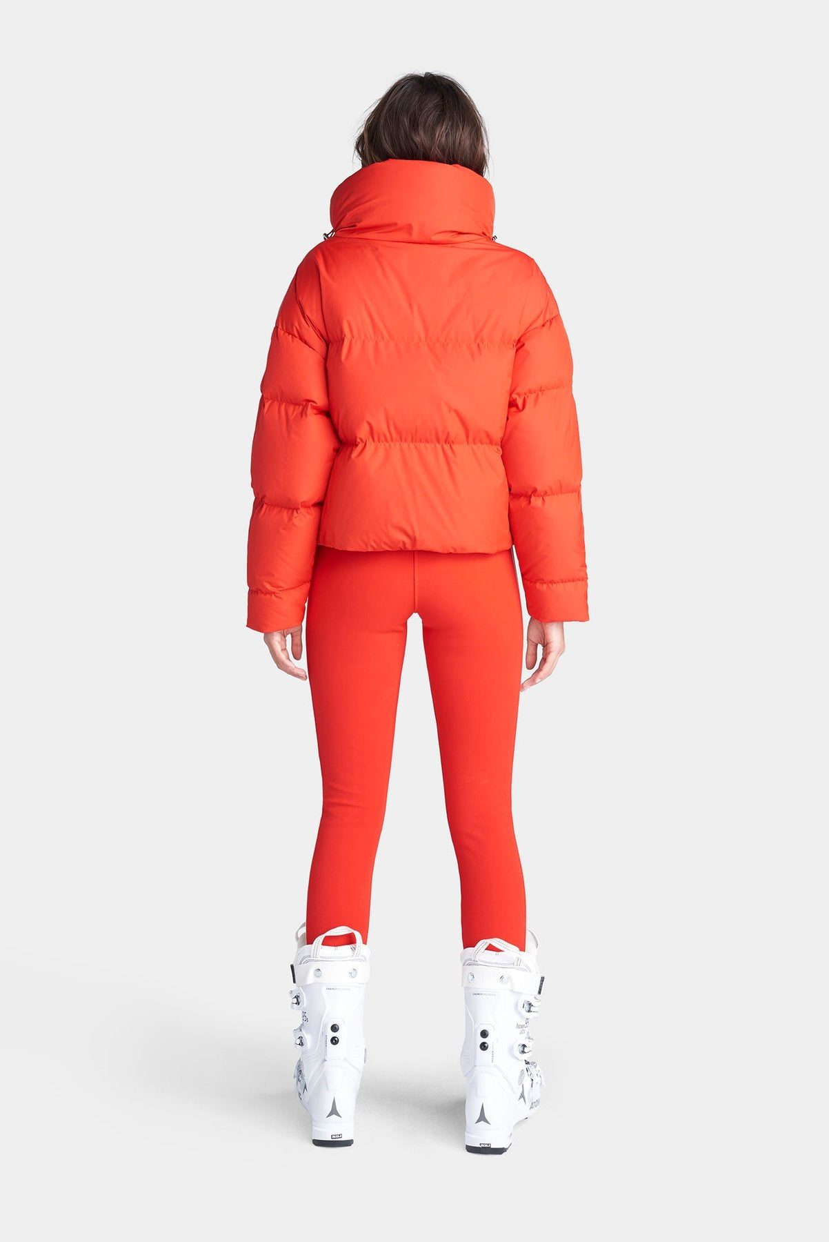 The Mont Blanc Ski Jacket - Fiery Red