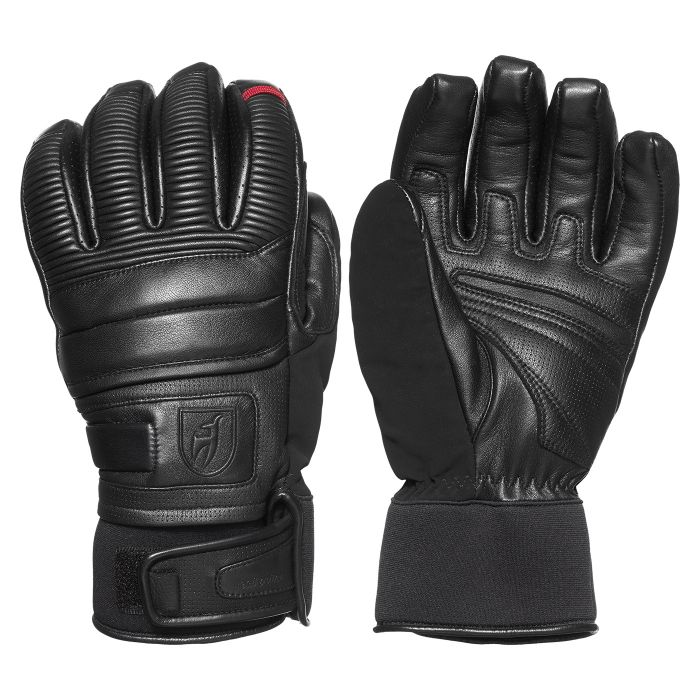Jesse Mens Waterproof Leather Gloves - Black