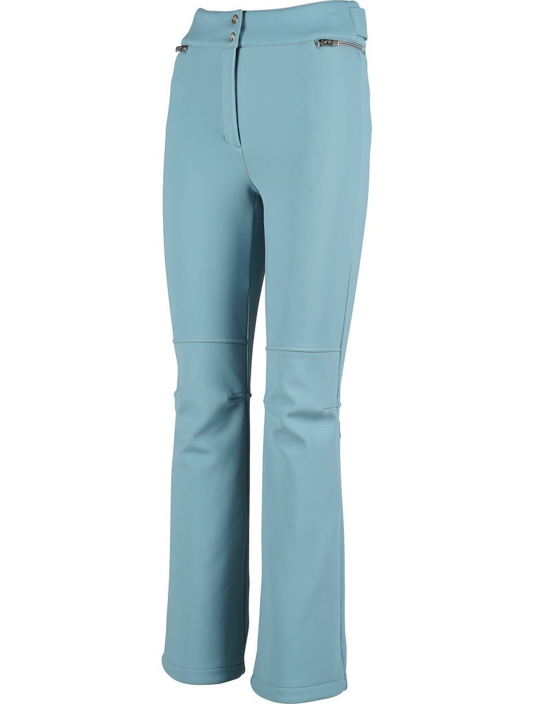 Elancia Fitted Zip Waist Detail Ski Pants - Blue