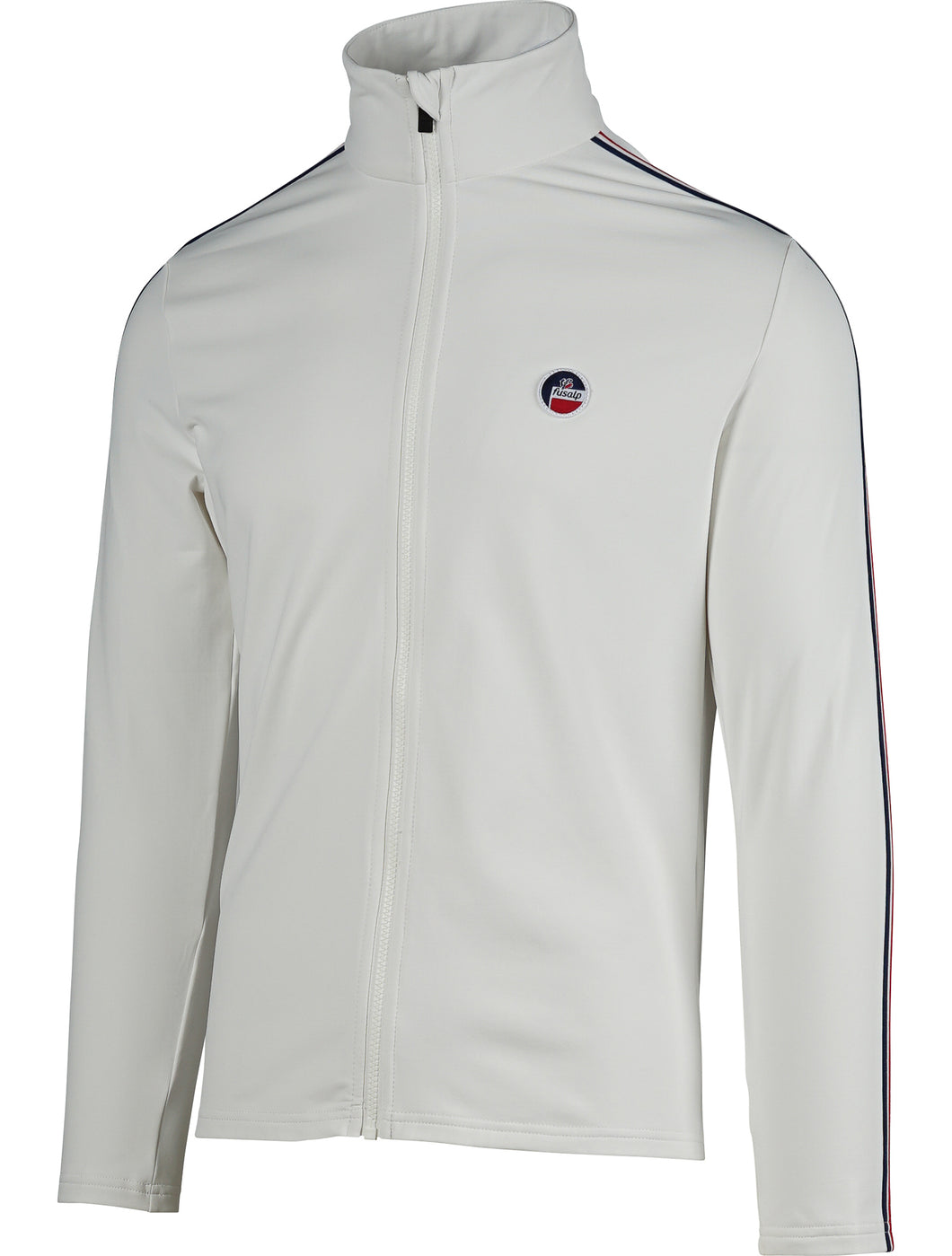 Mario Zip up Fleece Lined Layer - White