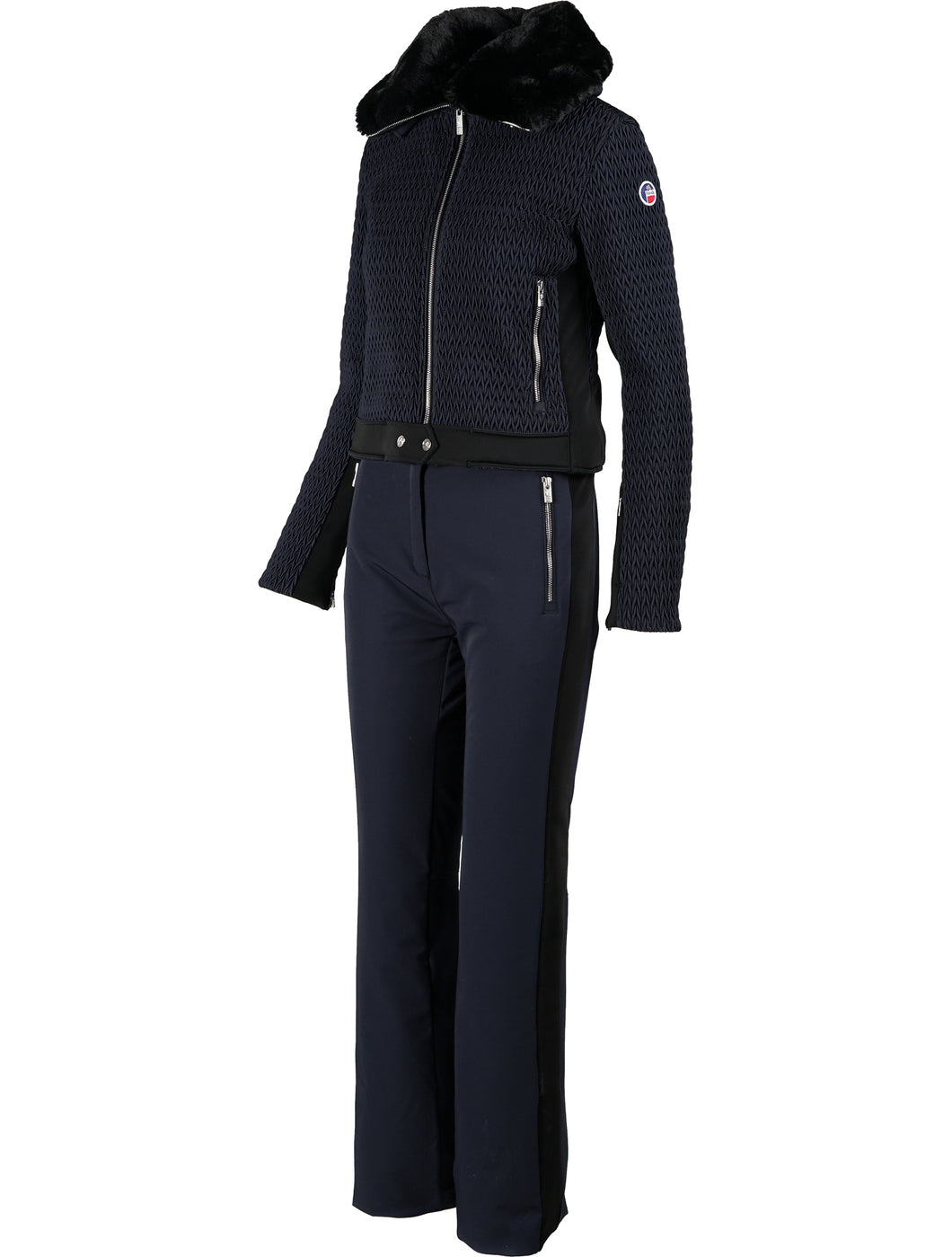 Neve II Two-Piece Ski Suit - Dark Blue