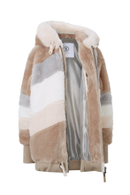 Load image into Gallery viewer, Indra Teddy Ski Jacket - White