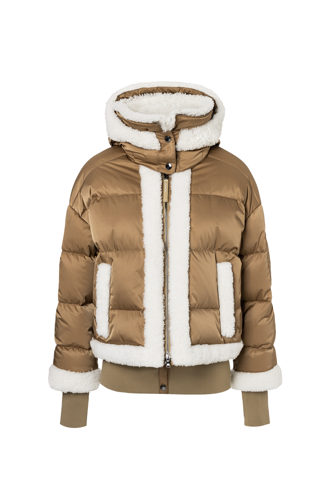 Suza-Ld 2-Layer Stretch Ski Jacket - Brown