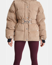 Load image into Gallery viewer, Mammoth Corduroy Belted Jacket - BEIGE