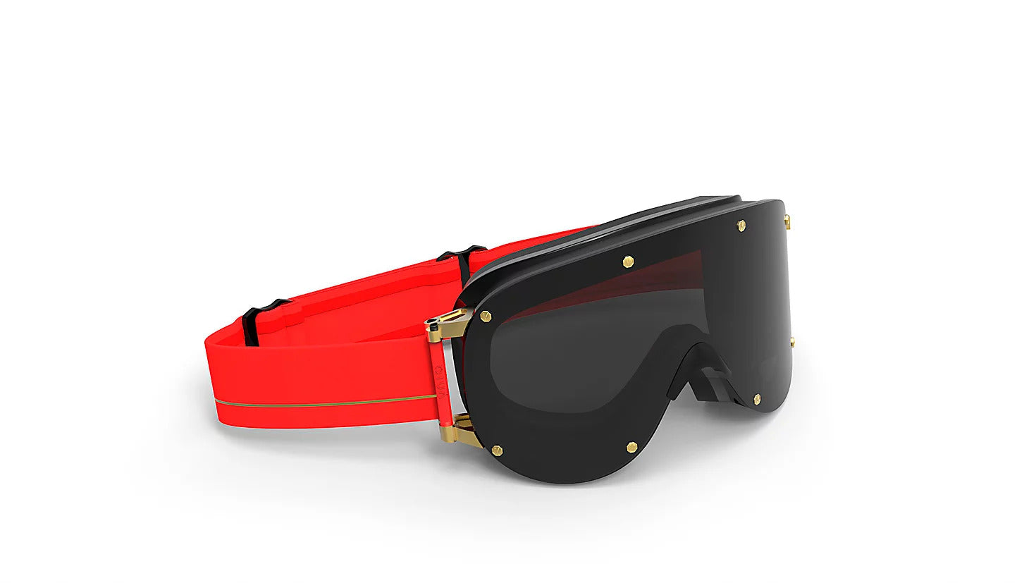 415 RED/ FOLD SMOKE LENSE EXTENDED VISION GOGGLES - SMOKE LENSE