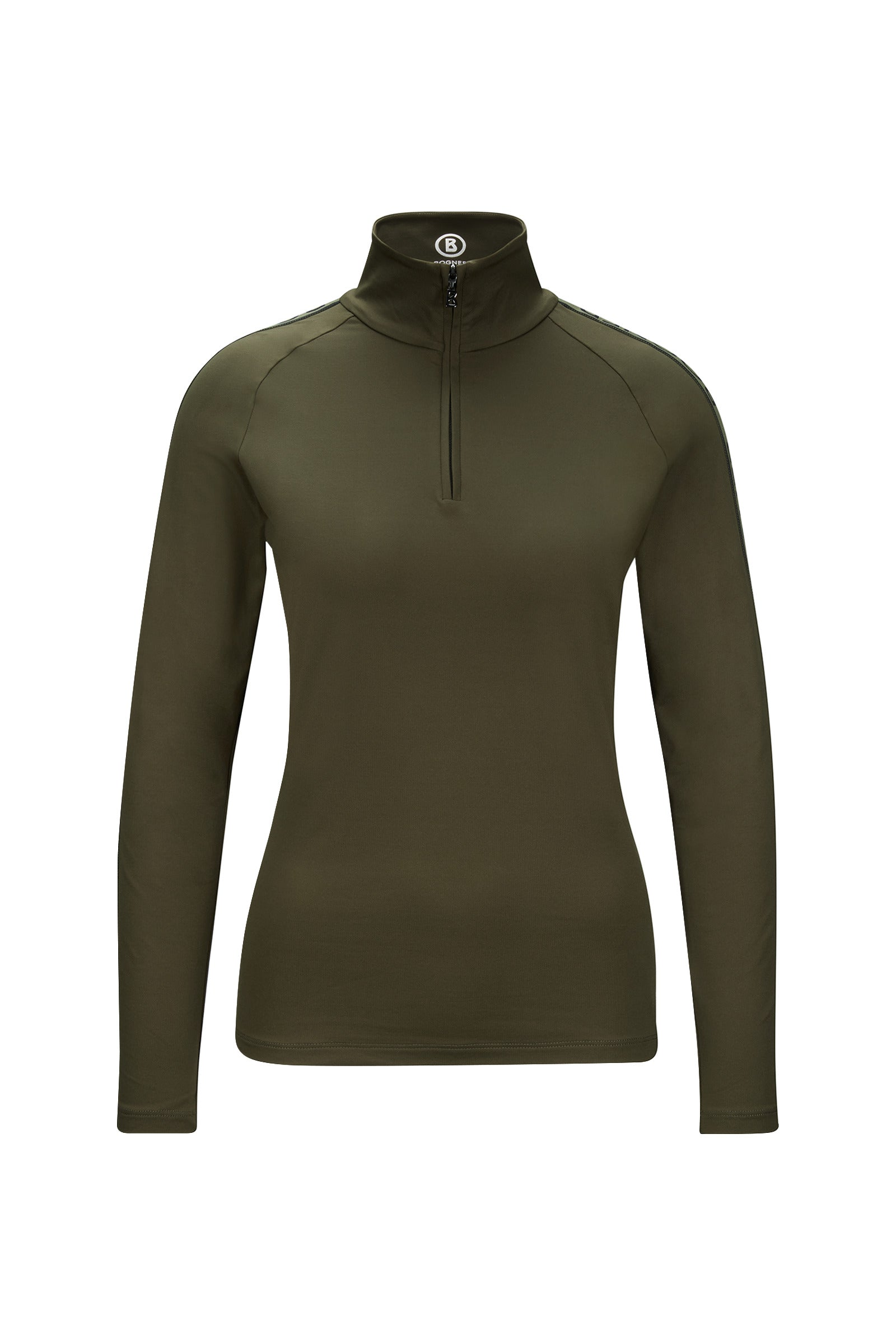 HAYDEN Base Layer with Logo sleeves - Khaki