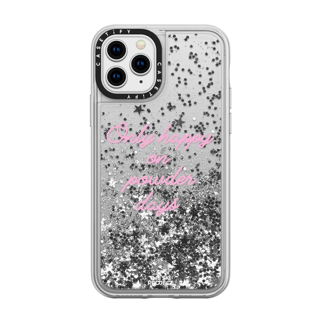 TSP X CASETiFY iPhone 11 PRO - Glitter Case - Silver