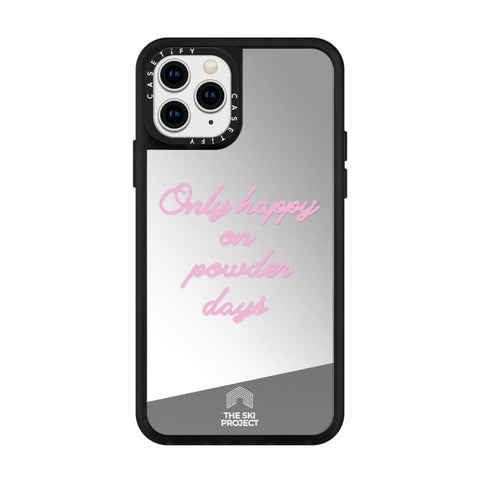 TSP X CASETiFY iPhone 11 PRO - Reflective Mirror Case - Black