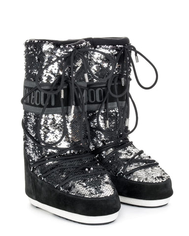 Moon Boot Classic Disco - Black