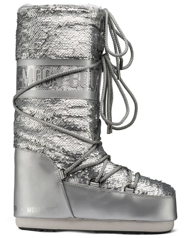 Moon Boot Classic Disco Plus - Silver