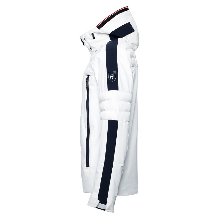 Elliot Mens Technical Ski Jacket - White
