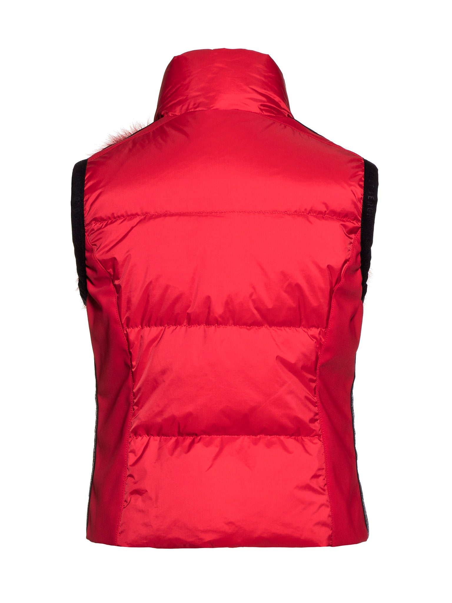 Rikur 2 in 1 Fur Gilet Ski Jacket - Lava