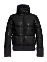 Load image into Gallery viewer, Skina Shiny Bomber Ski Jacket - Black