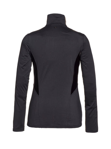 Arisa Logo Sleeves Base Layer - Black
