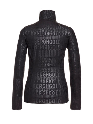 Louiza Monogram Base Layer - Black